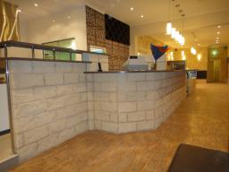 Featured Split-Faced Block Bar and Counter